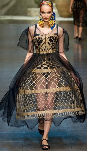 Платья для драматического стиля
