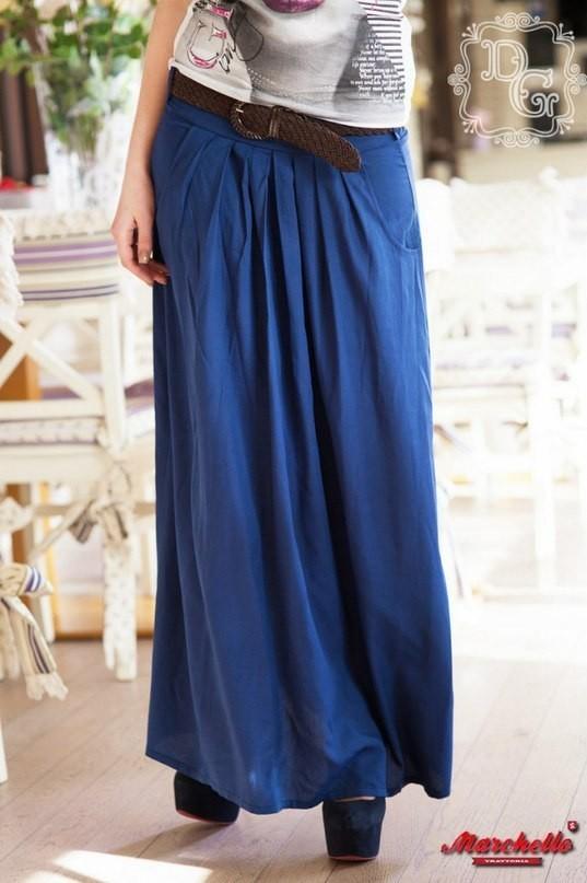Длинная широкая юбка купить