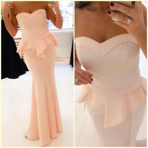 Платье персикового цвета купить