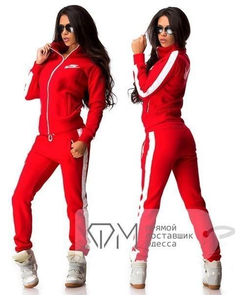 Женский летний спортивный костюм трикотаж — купить