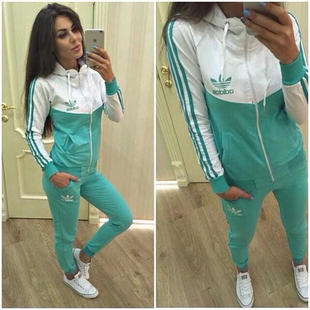 Спортивные костюмы для девушки адидас фото