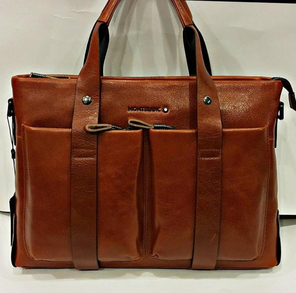 07f3f0b77d8c Купить коричневую мужскую сумку montblanc очень хорошего качества