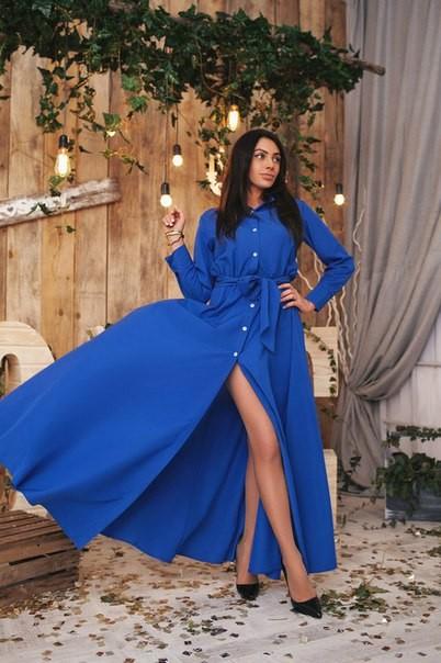 Купить женские длинные платья в интернет магазине