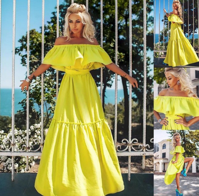 Яркие платья заказать