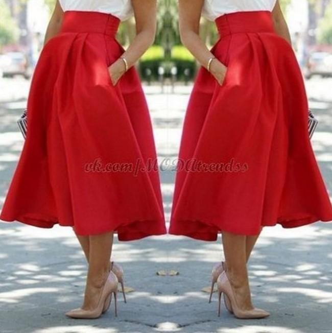 Заказать красную юбку