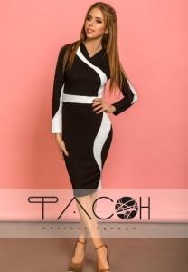 2d39288a7f92c00 Купить деловые и офисные платья черного цвета не дорого на Вбутике